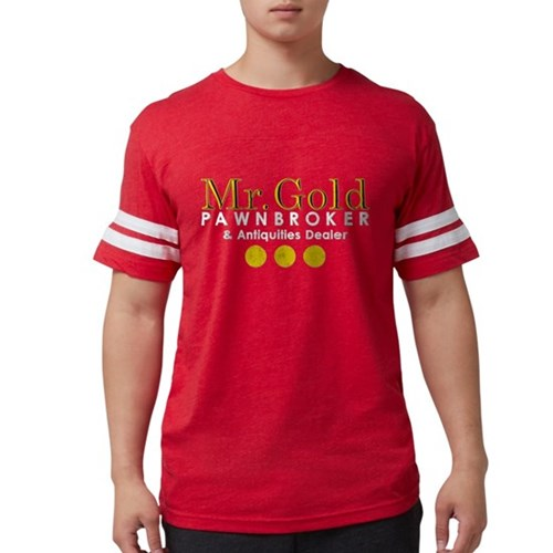 Mr. Gold Pawnbroker Mens Football Shirt