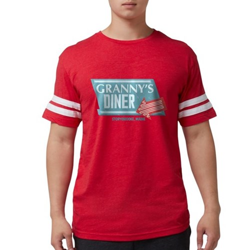 Granny's Diner Mens Football Shirt