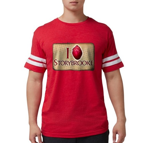 I Heart Storybrooke Mens Football Shirt