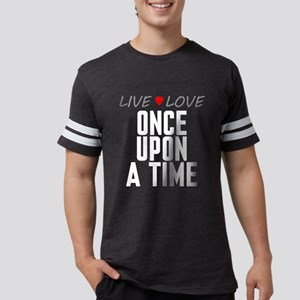 Live Love Once Upon a Time Mens Football Shirt