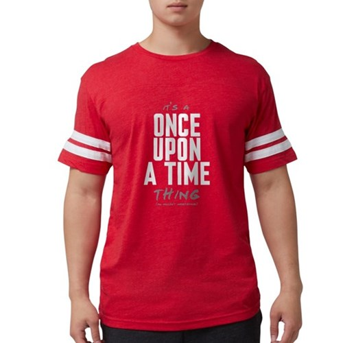 It's a Once Upon a Time Thing Mens Football Shirt