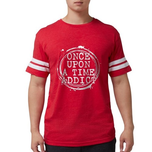 Once Upon a Time Addict Stamp Mens Football Shirt