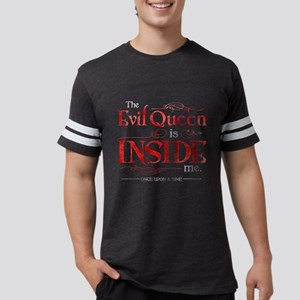 The Evil Queen is Inside Me Mens Football Shirt