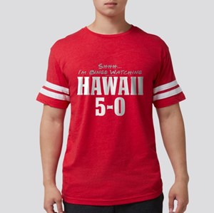 Shhh... I'm Binge Watching Hawaii 5-0 Mens Footbal