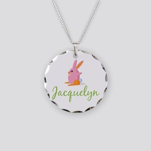 Easter Bunny Jacquelyn Necklace