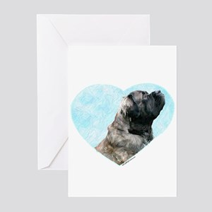 Fluffy 1 Greeting Cards (Pk of 10)