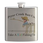Pryor Creek Bait Company Flask