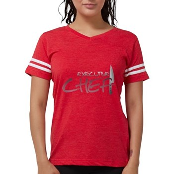 Red Executive Chef Womens Football Shirt