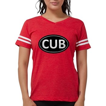 CUB Black Euro Oval Womens Football Shirt