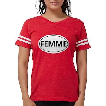 FEMME Euro Oval Womens Football Shirt