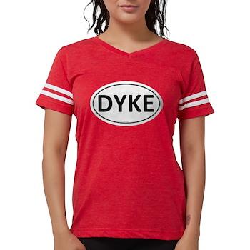 DYKE Euro Oval Womens Football Shirt