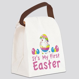 It's my first easter Canvas Lunch Bag