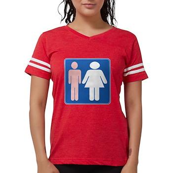 FAG HAG Sign Womens Football Shirt