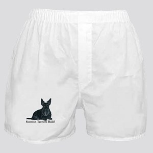 Scottish Terriers Rule! Boxer Shorts