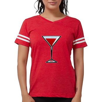 Vampire Martini Womens Football Shirt