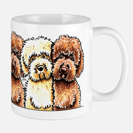 Yellow Chocolate Labradoodle Mug