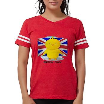 British Chick Womens Football Shirt