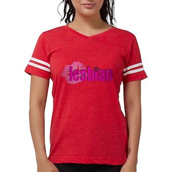 Lipstick Lesbian Womens Football Shirt