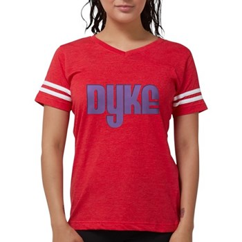 Purple Dyke Womens Football Shirt