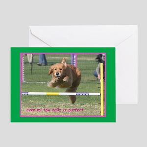 Golden Retriever Birthday Card Purfect