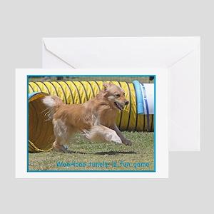 Golden Retriever Birthday Card Tunelz