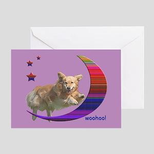 Golden Retriever Birthday Card Moondoggy