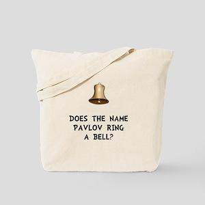 Pavlov Ring Bell Tote Bag