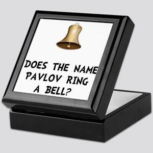 Pavlov Ring Bell Keepsake Box