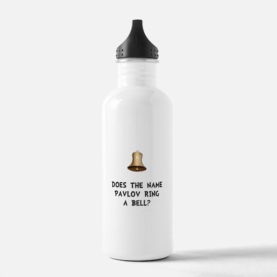 Pavlov Ring Bell Water Bottle