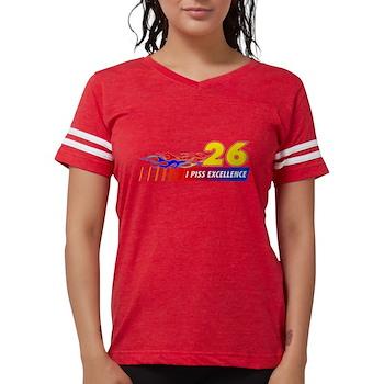 I Piss Excellence Womens Football Shirt