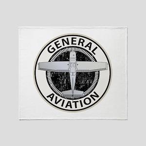 General Aviation Throw Blanket