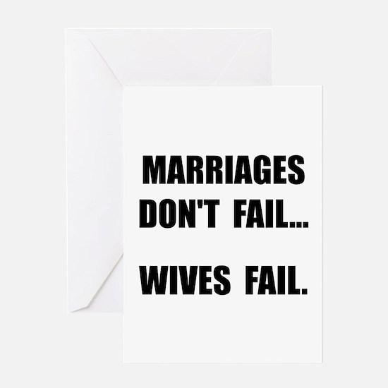 Wives Fail Greeting Card