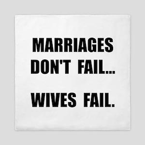 Wives Fail Queen Duvet