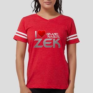 I Heart Grand Nagus Zek Womens Football Shirt