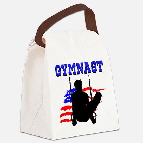 SUPERB GYMNAST Canvas Lunch Bag