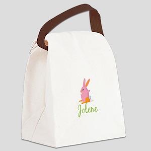 Easter Bunny Jolene Canvas Lunch Bag