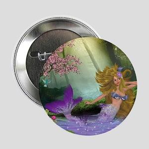 "Best Seller Merrow Mermaid 2.25"" Button"