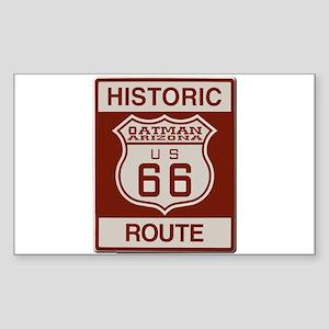 Oatman Route 66 Sticker