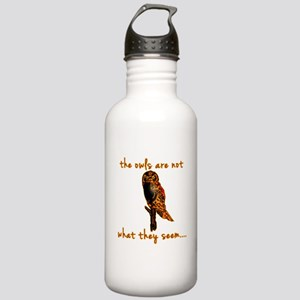 The Owls are Not What They Seem Stainless Water Bo