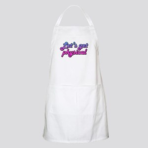 Let's get physical BBQ Apron