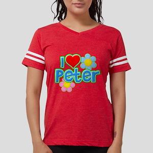I Heart Peter Womens Football Shirt