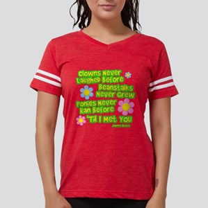 Clowns Never Laughed Before Womens Football Shirt