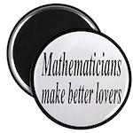 Mathematicians Make Better Lovers 2.25