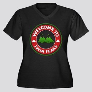 Welcome To Twin Peaks Plus Size T-Shirt