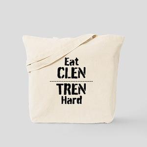 Eat CLEN TREN hard Tote Bag