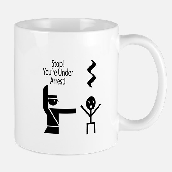 Stop you're under a rest music humour Mug