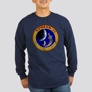 Apollo 14 Long Sleeve Dark T-Shirt