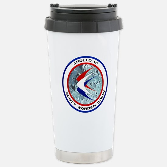 Apollo 15 Stainless Steel Travel Mug