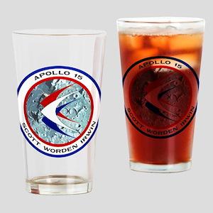 Apollo 15 Drinking Glass
