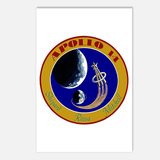 Apollo 14 Postcards (Package of 8)
